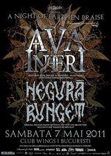 Concert exclusiv Ava Inferi si Negura Bunget la Bucuresti