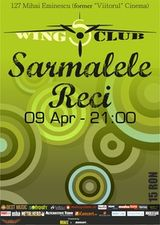 Concert Sarmalele Reci in Wings Club Bucuresti