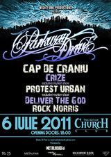 Concert Parkway Drive in iulie la Bucuresti