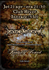 Descend into Despair + Rootedly Vexed in Club River Radauti