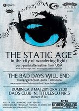 Concert The Static Age in club Daos din Timisoara
