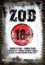 Concert aniversar Z.O.B. in Wings Club Bucuresti