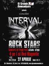 Concert INTERVAL, Red Magnetic, 4pe1