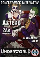Concert Astero si Zar in Underworld