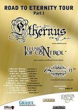 Concert Ethernus si Illusion Of Control in Oradea