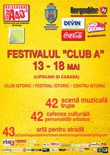 Festivalul Club A in Centrul Vechi din Bucuresti