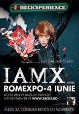 Concert IAMX si Monarchy la Romexpo Bucuresti