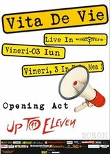 Concert Vita de Vie si Up To Eleven in Club Wings