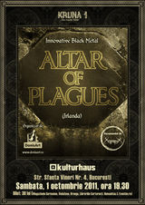 Kruna 1: concert Altar Of Plagues in Kulturhaus