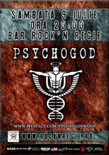 Concert Psychogod in Rock'N Regie BAR Bucuresti