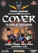 Lansare DVD Cover: 10 Years Of Underground in VHR Pub Targu Mures
