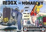 Concert Redox si Monarchy in Underworld
