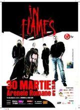Concert IN FLAMES la Bucuresti la Arenele Romane