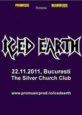 Concert Iced Earth la Bucuresti