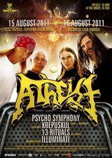 ANULAT Concert Atheist la Cluj-Napoca