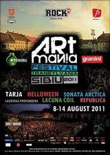 Artmania 2011 prezinta: Tarja Turunen, Republica, Helloween , Lacrimas Profundere si Sonata Arctica