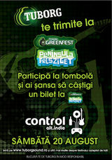 Official pre-party Tuborg Green Fest Peninsula in Control