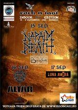 Rock N Iasi Festival: Napalm Death, Altar, Luna Amara, Bucovina si Mat