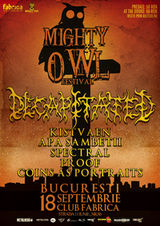 Mighty Owl Festival la Bucuresti! Decapitated headliner