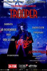 Concert Trooper si Addiction in club Daos Timisoara