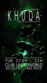 Concert Khuda in Underworld Bucuresti