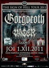 Concert Gorgoroth si Vader la Cluj-Napoca