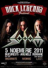 Concert Sodom la Arenele Romane din Bucuresti