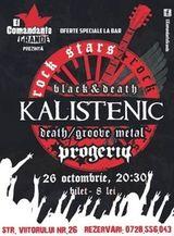 Concert Kalistenic si Progeria in El Grande Comandante