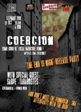 Concert de lansare album Coercion in Elephant Pub