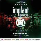 Concert Implant pentru Refuz si Breathelast in Club Wings