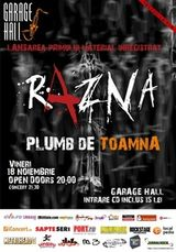 Concert de lansare EP debut Razna in Garage Hall Bucuresti