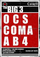 Concert OCS, Coma si AB4 la Silver Church