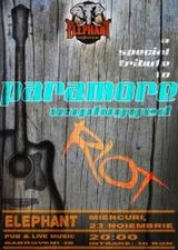 Concert tribut Paramore unplugged in Elephant Pub