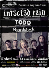 Concert Infected Rain si Todo in Club Zodiar din Galati