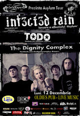 Concert Infected Rain in Oldies Pub din Sibiu