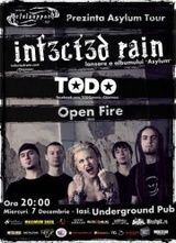 Concert Infected Rain in Underground Pub din Iasi