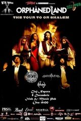 Concert Orphaned Land in Irish Music Pub din Cluj-Napoca