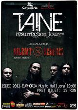 Concert Taine in club Euphoria Music Hall din Cluj