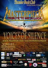 Concert Masterpiece si Voices Of Silence la Odorheiu Secuiesc