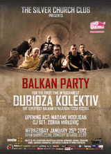 Balkan Party: Dubioza Kolektiv si Madame Hooligan in Silver Church