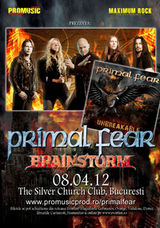 Concert Primal Fear si Brainstorm la Bucuresti