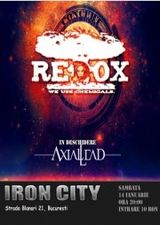 Concert Redox in Iron City Bucuresti