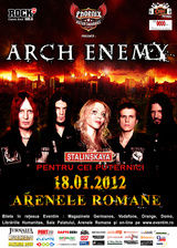 Concert Arch Enemy la Arenele Romane din Bucuresti