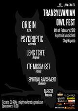 Transylvanian Owl Festival la Cluj-Napoca