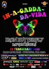 Concert Iron Butterfly si Raygun Rebels in Hard Rock Cafe Bucuresti