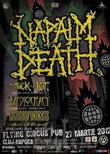 Concert NAPALM DEATH in Cluj-Napoca