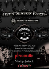 Chopper Academy Open Season Party - concerte Phenomenon, Strip Joint si Reborn