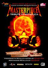 Concert aniversar Metallica cu MASTERPIECE in Cluj-Napoca