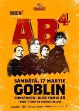 Concert AB4 in club Goblin din Constanta