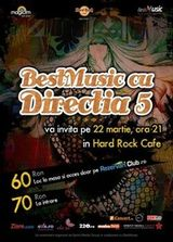 Concert DIRECTIA 5 in Hard Rock Cafe Bucuresti